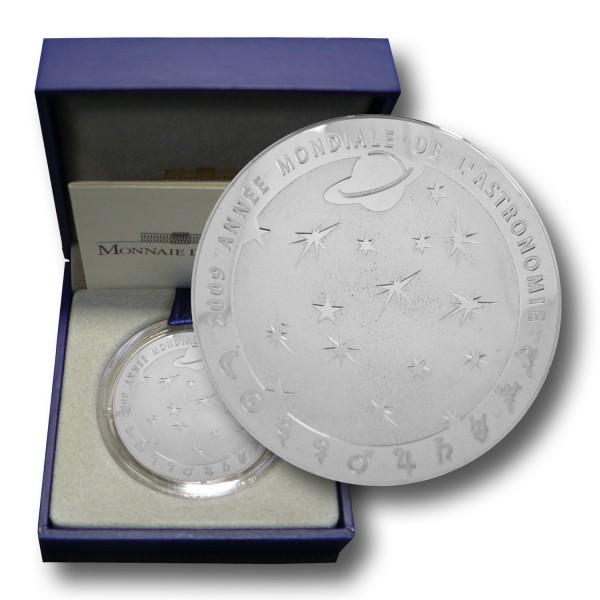 10 Euro Frankreich - Astronomie Silbermünze (2009) PP - OVP