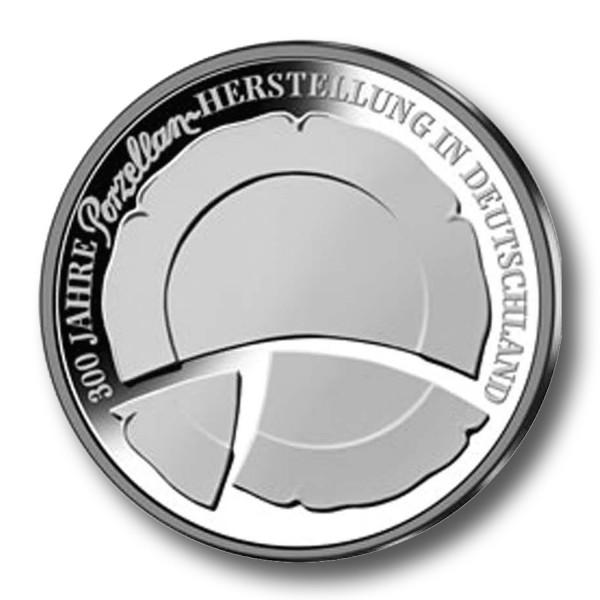 10 Euro BRD - 300 Jahre Porzellanherstellung in Deutschland Silbermünze (2010)
