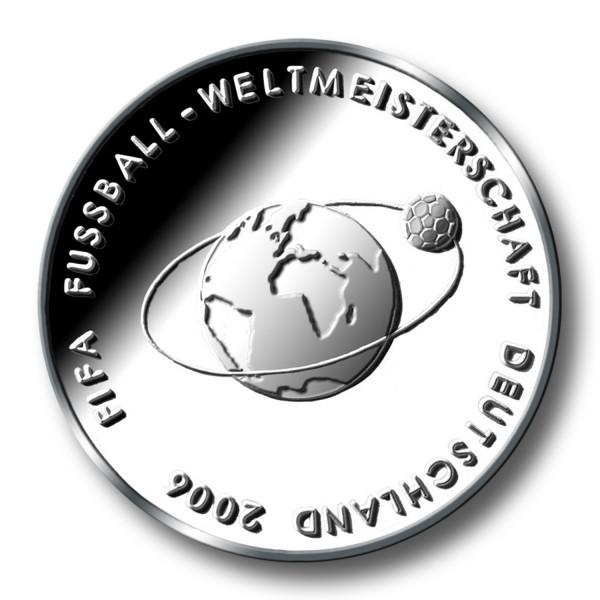 10 Euro BRD - Fifa WM 2006 in Deutschland Silbermünze (2004)