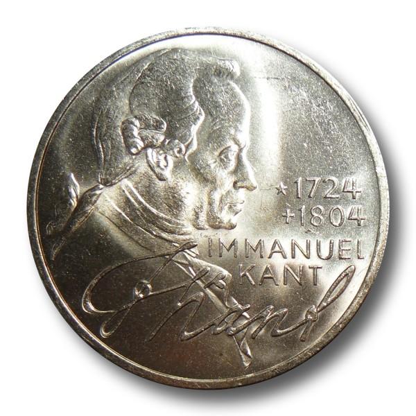 5 DM Silber Gedenkmünzen Deutschland verschiedene Jahrgänge (1966-79)