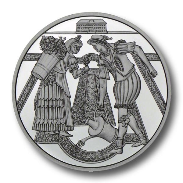 10 Euro Schloß Hof Österreich Silbermünze (2003) PP