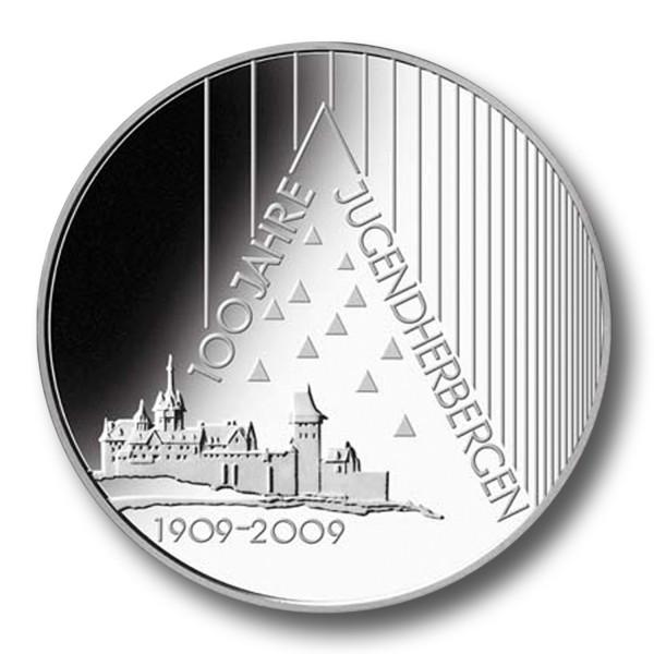 10 Euro BRD - 100 Jahre Jugendherbergen Silbermünze (2009)