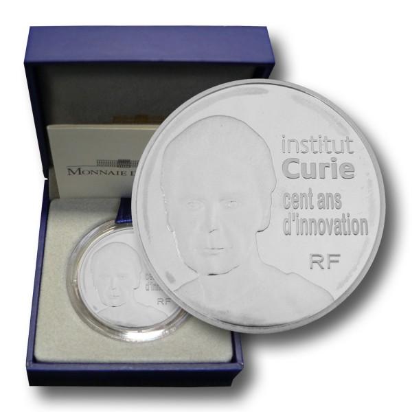 10 Euro Frankreich - Institut Curie Silbermünze (2009) PP - OVP
