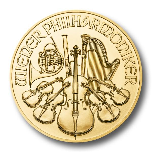 Wiener Philharmoniker Österreich 1/10 oz Goldmünze (div.)