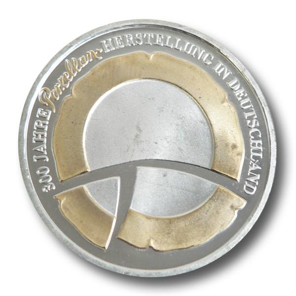 10 Euro BRD - 300 Jahre deutsche Porzellanherstellung Silbermünze (2010) - teilvergoldet