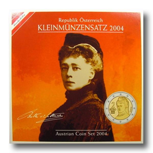 3,88 Euro Kursmünzenset Österreich (2004)